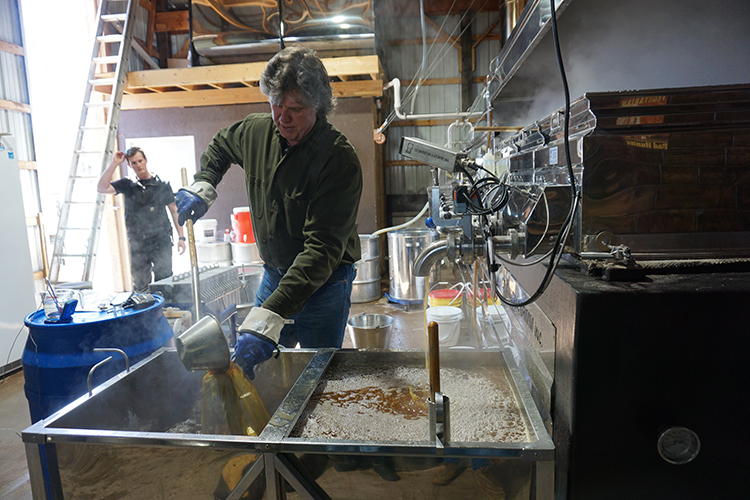 Maple syrup is made at Paul Family Sugarbush.