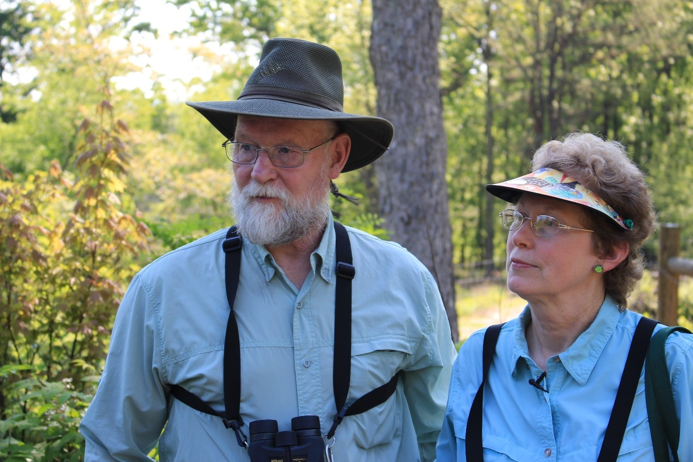 Mike and Laura Jackson manage 114 acres of forestland in Pennsylvania. NRCS photo.