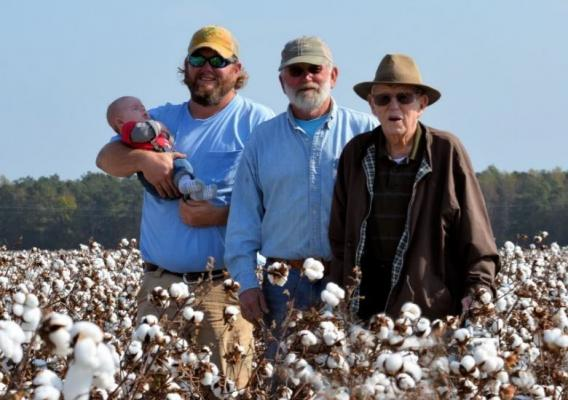 Zeb Winslow is a fifth-generation farmer in Scotland Neck, North Carolina.