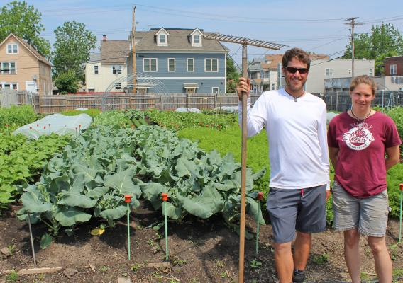 This Friday, meet Carrie Nader and Alexander Wadsworth, owners of Westside Tilth Farm in Buffalo, New York.