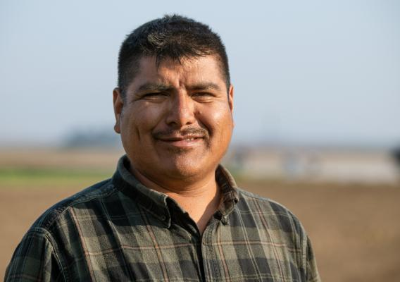 In this week's #FridaysOnTheFarm, we meet Carlos Gonzalez Torrez, an experienced farmworker and student at the Agriculture and Land-Based Training Association in Salinas, California.