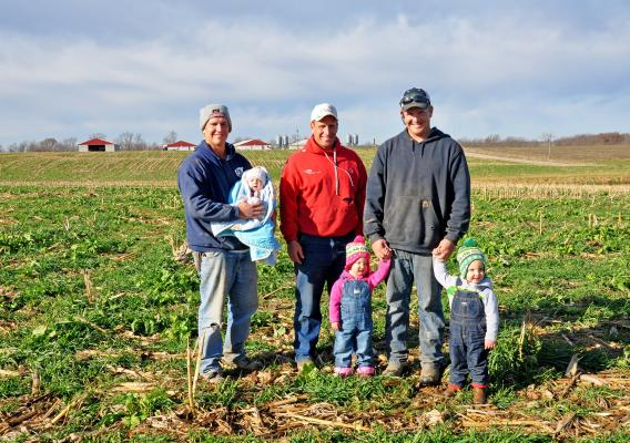 The Prevo brothers, a fifth-generation farm family in Iowa, are investing in soil health and seeing record yields because of it.