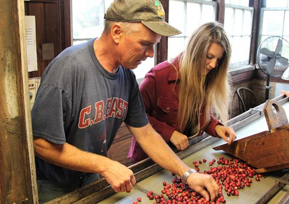 meet Tom Gerber, a fourth-generation farmer and owner of Quoexin Cranberry Company in Medford, New Jersey.