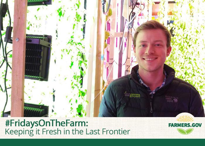 This week we travel to Anchorage, Alaska, where Nik Bouman owns and operates a hydroponic herb farm.