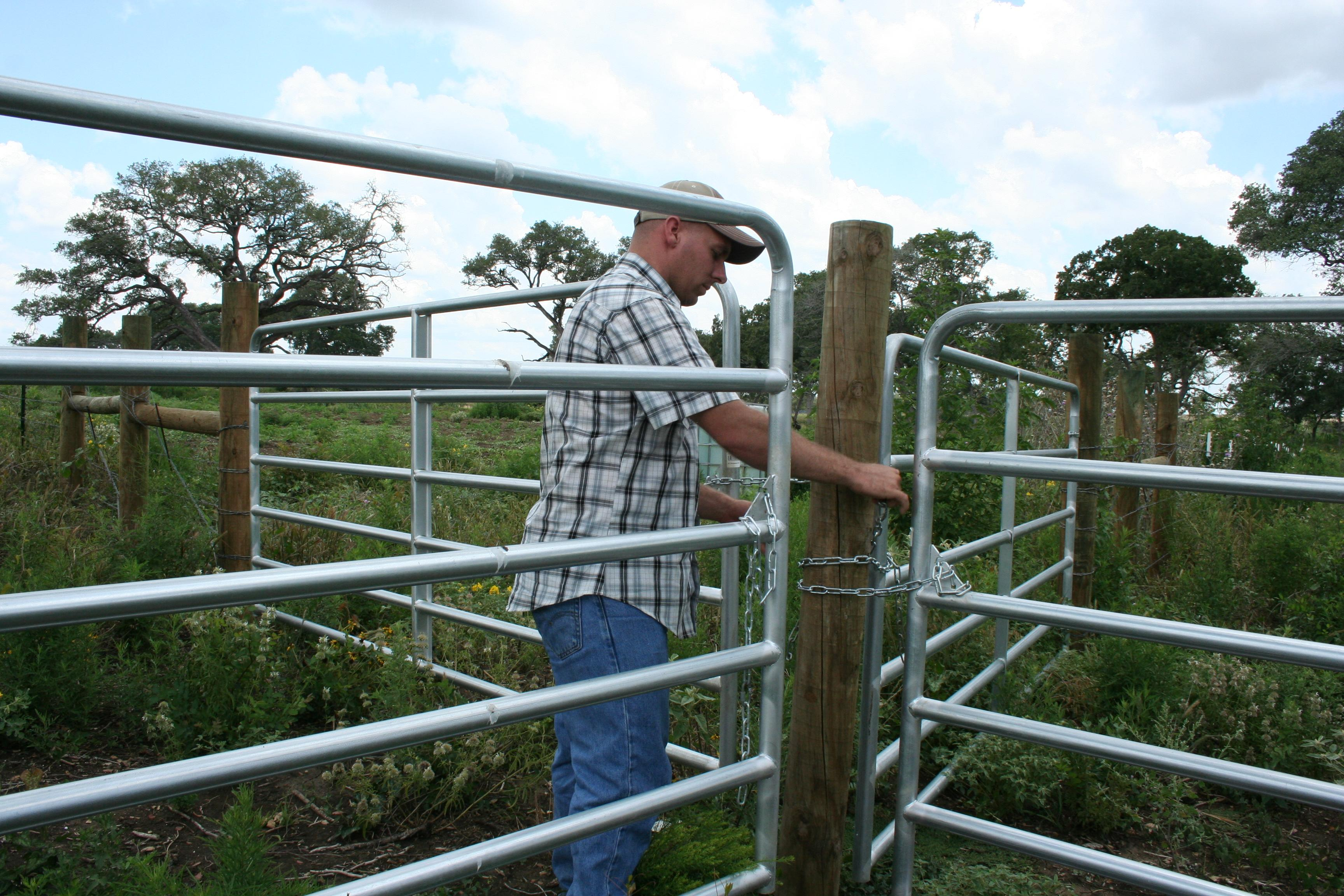 USDA goes the extra mile to help farmers such as Chris Barnes, who was able to handle paperwork for his conservation efforts on the farm while deployed.