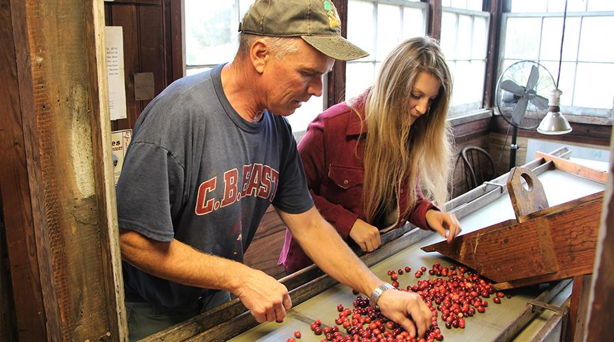 meet Tom Gerber, a fourth-generation farmer and owner of Quoexin Cranberry Company in Medford, New Jersey. Tom's cranberry operation is among the oldest in the state.
