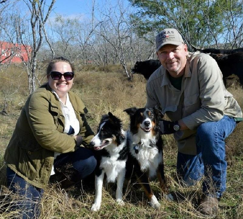 Melissa and Doug Havemann are using USDA programs and technical assistance to make improvements to their grass-fed cattle business.