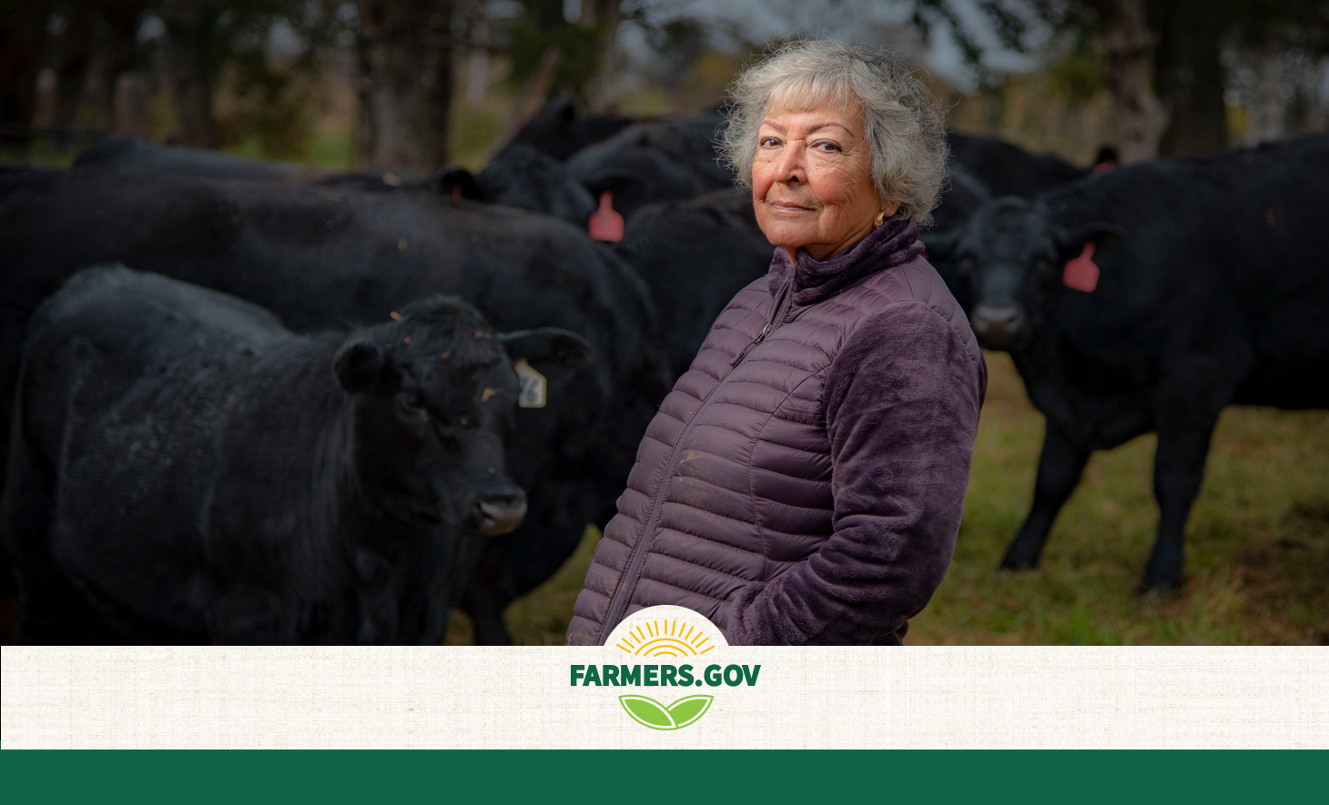 Over the decades, Margarita Munoz has raised a family, worked non-farming full-time jobs, and built a thriving cattle business.