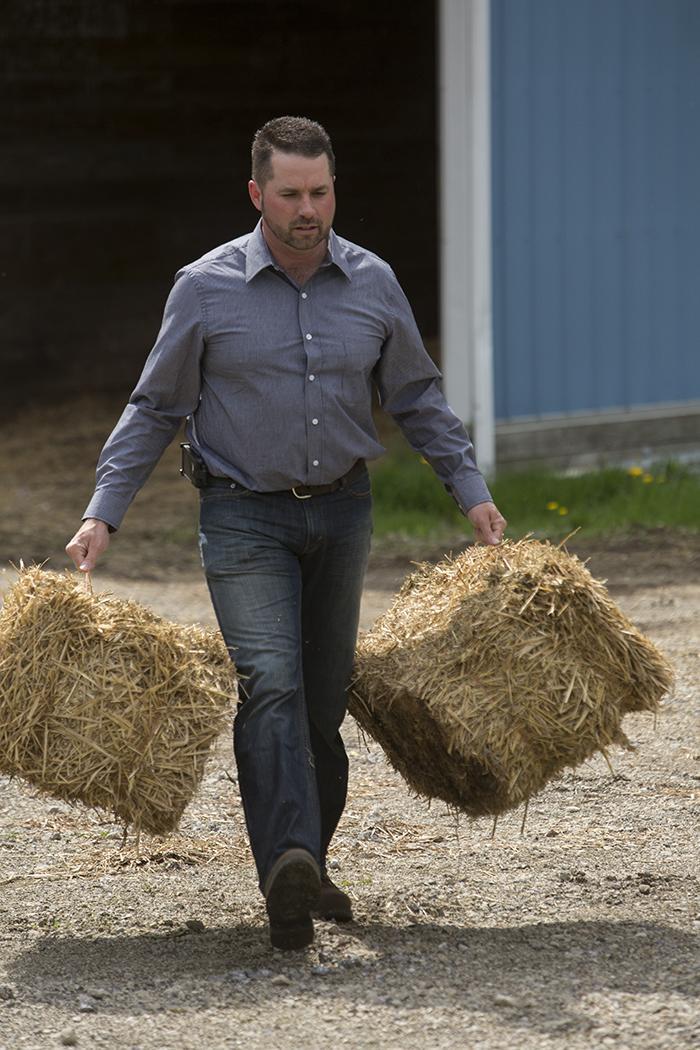 Frank Burkett serves as president of the Ohio Farm Bureau Federation. Photo courtesy of the Ohio Farm Bureau Federation.