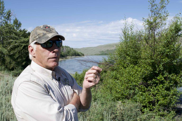 Wyoming rancher DeWitt Morris is setting an example for how to protect the sagebrush landscape from the threat of invasive weeds.