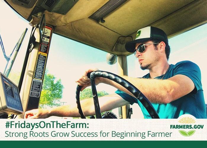 Meet Dakota Davidson, and learn how beginning farmer loans through FSA helped him grow his operation.