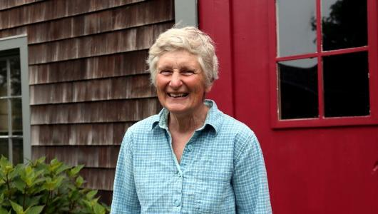 Martha Neale of Windmist Farm in Rhode Island.